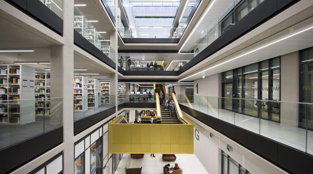 New Library University Of Birmingham Associated Architects