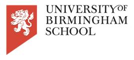Birmingham School UTC University of Birmingham