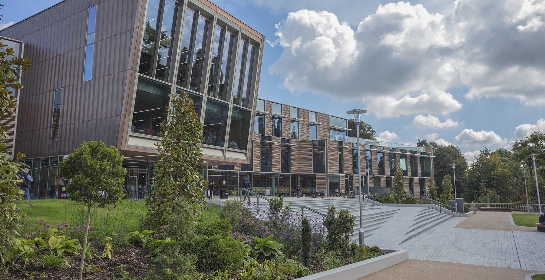 Davison Library Royal Holloway