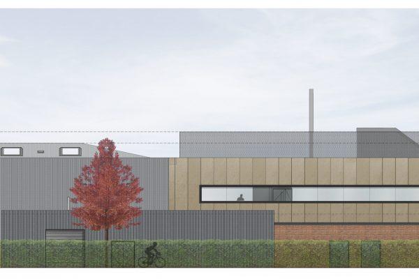 International Leather Centre University of Northampton Visualisation Elevation