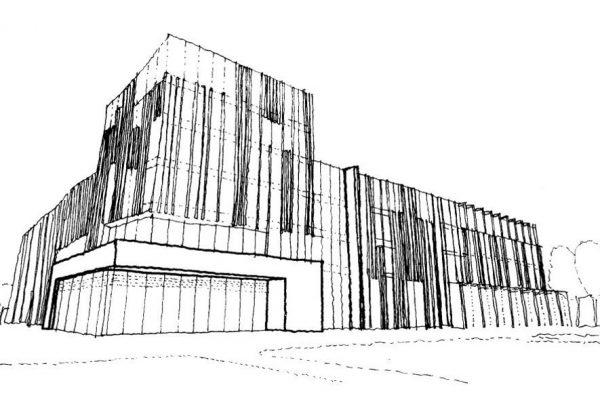University of Birmingham Library Concept Sketch